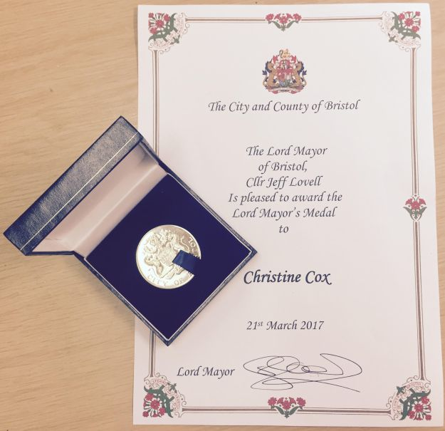 Lord Mayor's Award for Chris