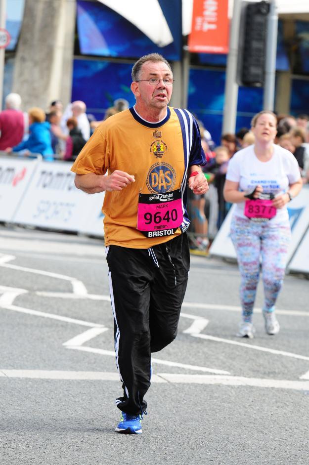 mark running